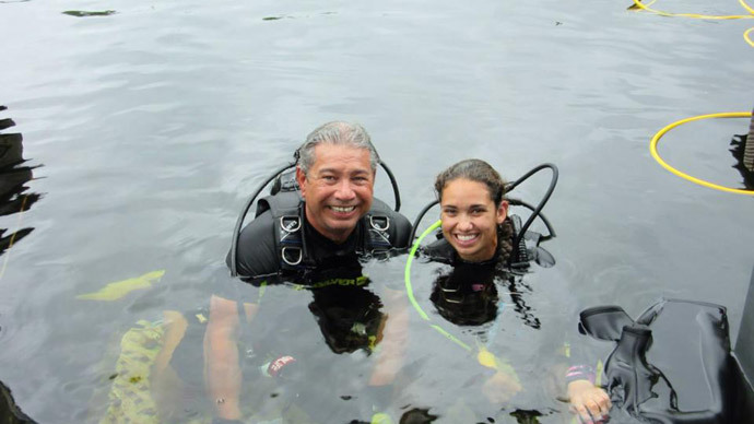Lectures from the deep: 2 professors begin record 73-day underwater stint (VIDEO)