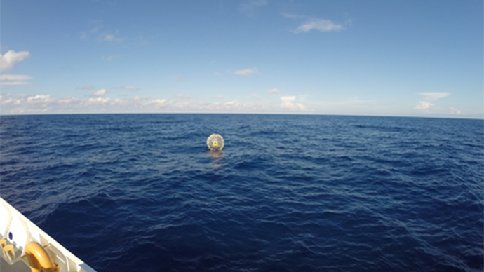 Bubble trouble: Man 'running' to Bermuda rescued off Florida coast