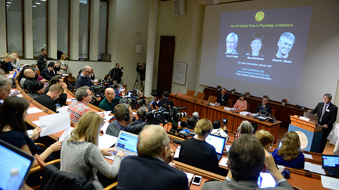 Nobel for 'inner GPS': Discoveries of brain's mapping cells get high medical award
