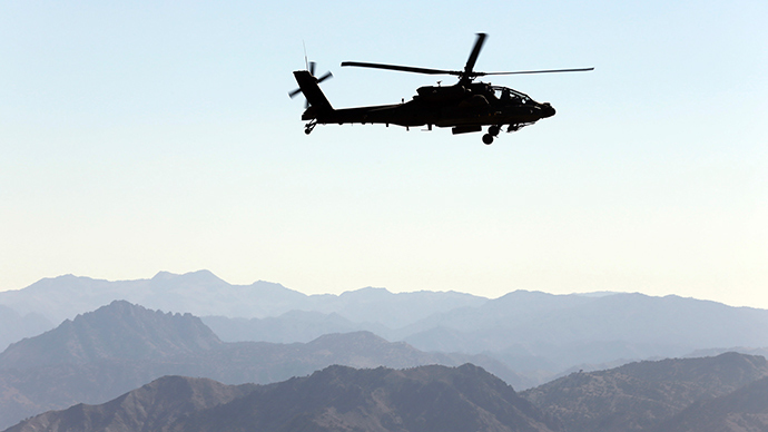 They're back: US uses Apache helicopters against ISIS in Iraq