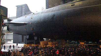 Submerged Russian nuclear sub test-fires strategic Sineva missile