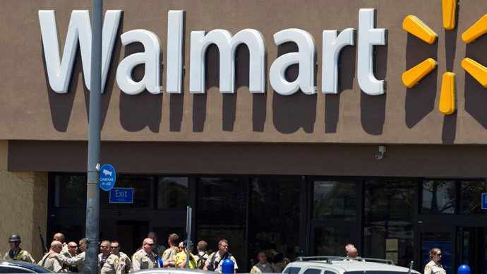 Ohio open-carry supporters bring guns to Walmart police shooting protest
