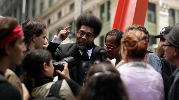 Cornel West calls Obama the 'Black face of the American empire'