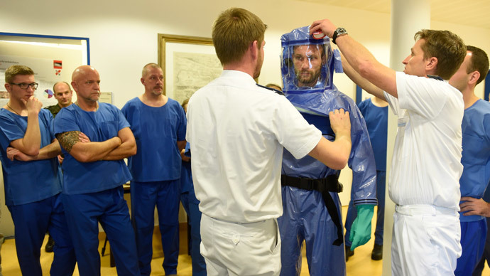 Ebola spread 'unavoidable' in Europe due to extensive travel - WHO