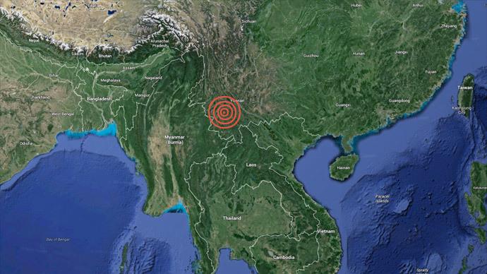 5.8-quake hits southwest China's Yunnan: Reports of 5 killed, 30+ injured