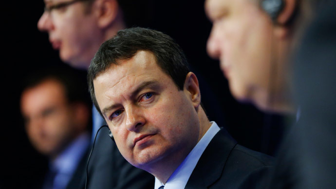 Serbia proposes free trade zone with Russia