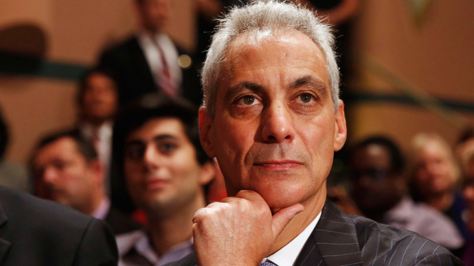 Chicago Mayor Rahm Emanuel.(Reuters / Larry Downing)