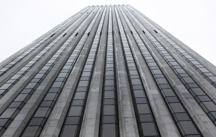 The General Motors building was bought by Chinese investor Zhang Xin last year. Photo taken March 8, 2013. (Reuters/Shannon Stapleton)
