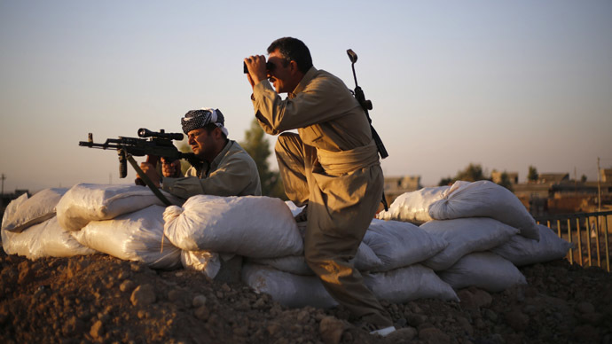 Siege of Kobani: Insider video shows ISIS militants advance