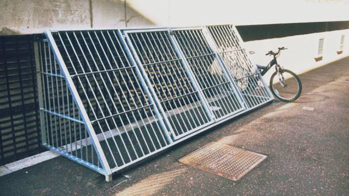'Disgusting': Anti-homeless cages installed at UK university