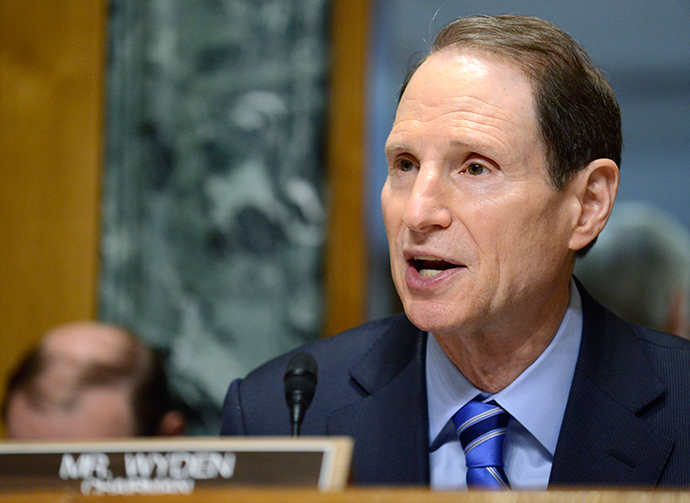 Senate Finance Committee Chairman Ron Wyden (D-OR) (Reuters / Mike Theiler)