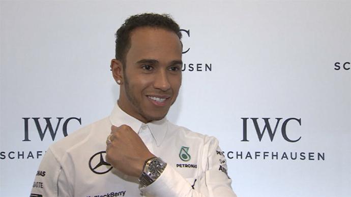 Lewis Hamilton (RT video)