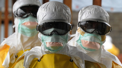 'You're all screwed!' Man jokes he has Ebola, taken off plane by hazmat-suited medics