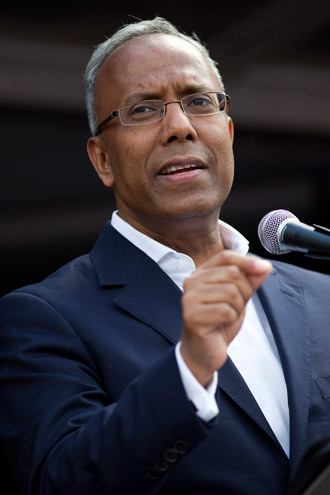 Lutfur Rahman, Labour Party mayor of Tower Hamlets (AFP Photo / Justin Tallis)