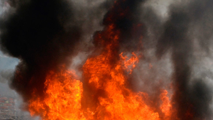 500-lb. body causes fire at Virginia crematory