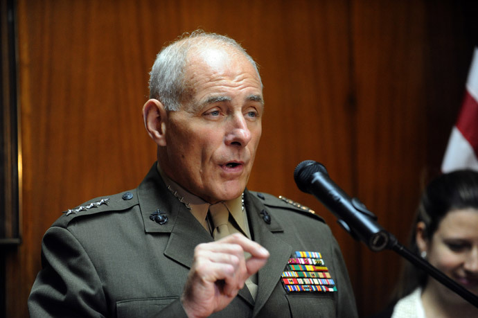 General John F. Kelly (AFP Photo / Norberto Duarten)