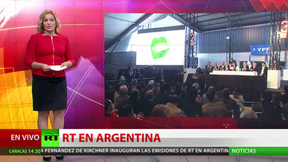 RT launches nationwide broadcasting in Argentina