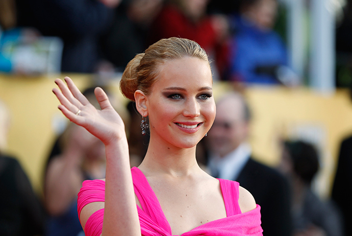 Actress Jennifer Lawrence (Reuters / Lucas Jackson)