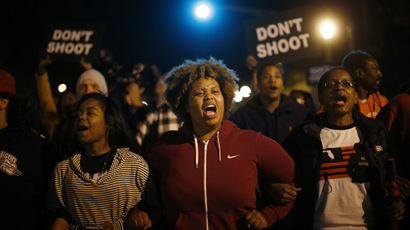'Terror on American soil': #FergusonOctober stages 4-day rally as shooting anger rages