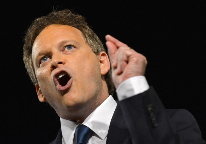 Co-Chairman of Britain's Conservative Party, Grant Shapps. (Reuters/Toby Melville)