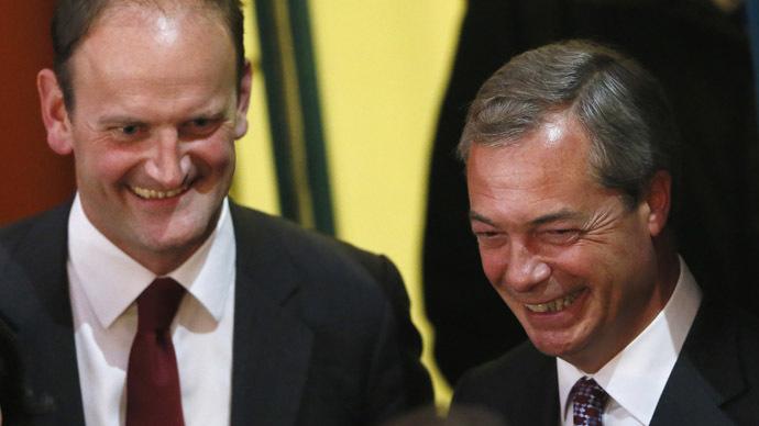 Eurosceptic UKIP wins first British parliament seat in landslide victory