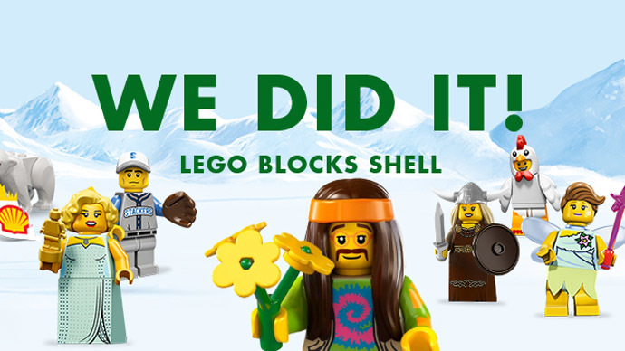 LEGO ends 50-year tie-up with Shell after anti-Arctic oil campaign by Greenpeace