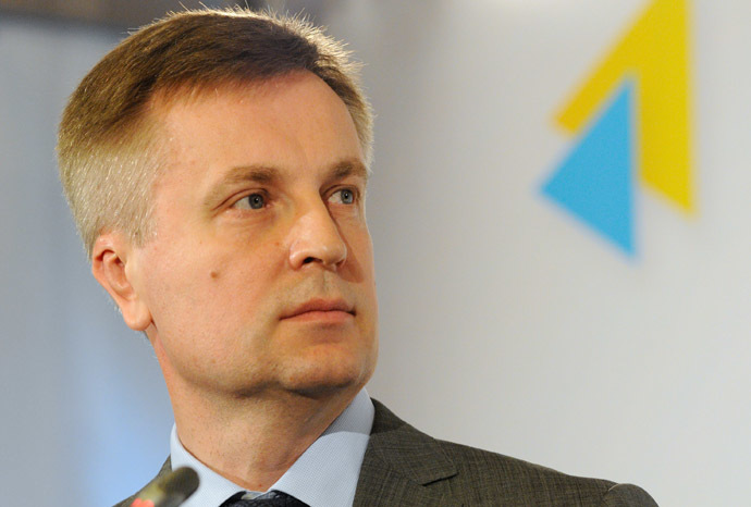 krainian Security Service Chairman Valentin Nalivaichenko. (RIA Novosti/Alexandr Maksimenko)