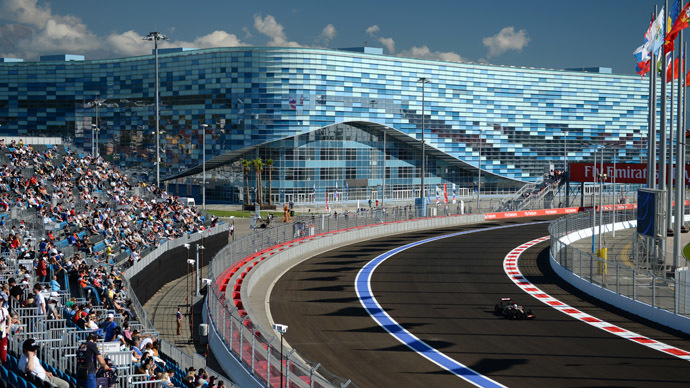 Start your engines: Maiden Russian F1 GP gets under way in somber mood