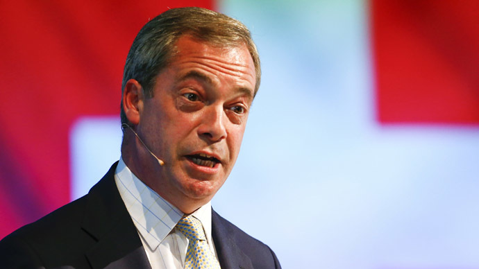 'New level of ignorance': UK charity blasts Farage's call to ban HIV-positive migrants