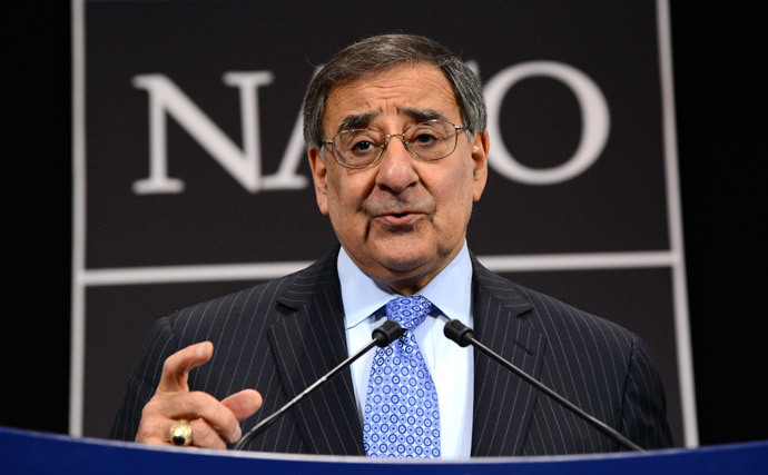 Leon Panetta (AFP Photo / Thierry Charlier )