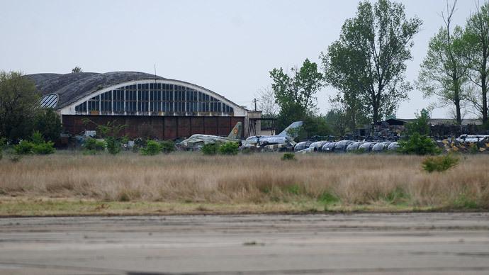 A general view of Deveselu army base.(AFP Photo / Daniel Mihailescu)