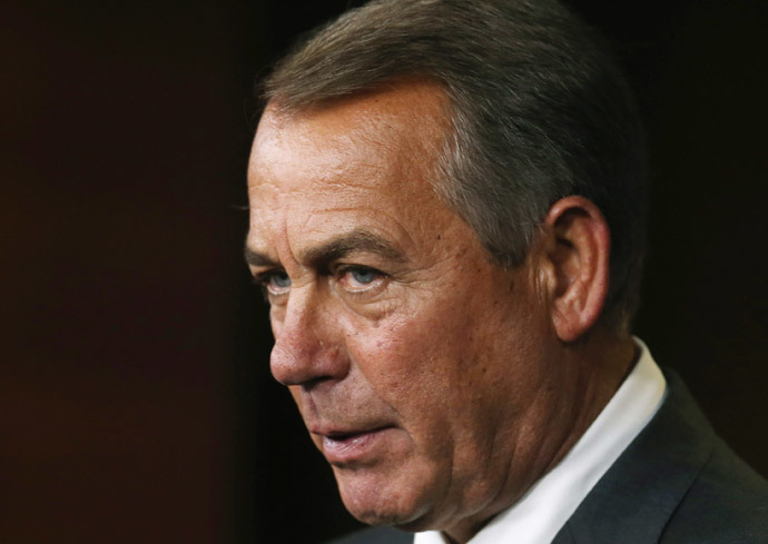 John Boehner.(AFP Photo / Mark Wilson)