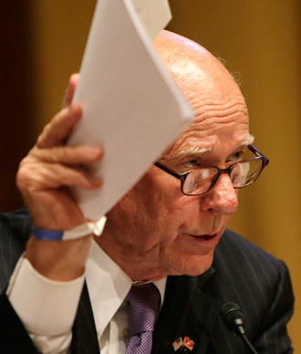Senator Pat Roberts.(Reuters / Gary Cameron )