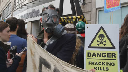 ​Fracking companies could bury 'any substance' under homes