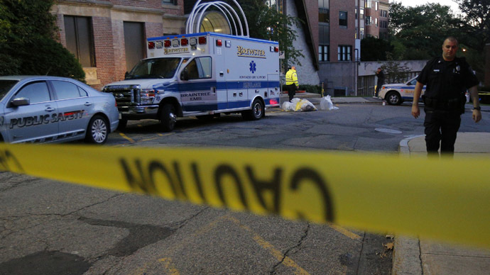 'Ebola protocol in place': Suspected case transferred to Boston hospital