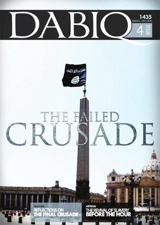 Latest issue of Dabiq magazine