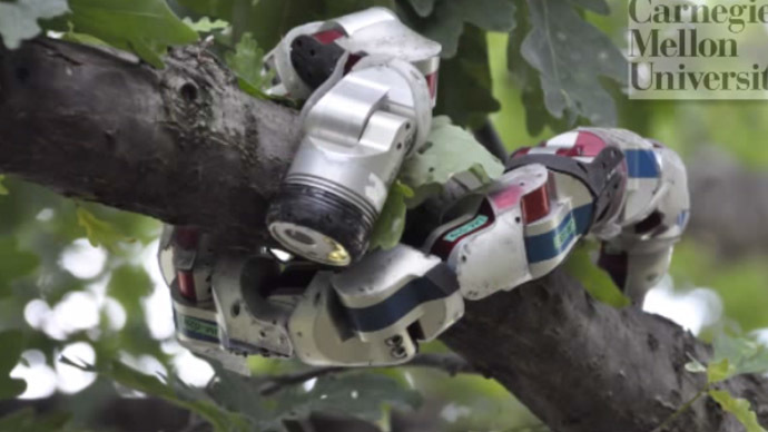 Robot snake mimics sidewinder motion, conquers sandy slopes (VIDEO)