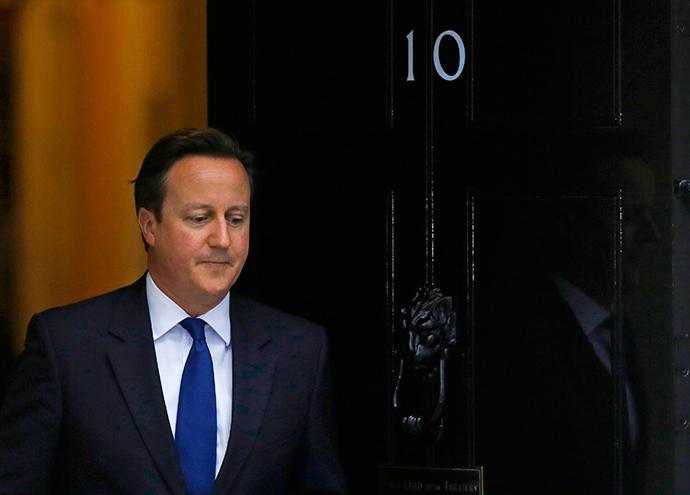 Britain's Prime Minister, David Cameron. (Reuters / Luke MacGregor)