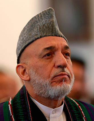 Former Afghan President Hamid Karzai (Reuters / Mohammad Ismail)