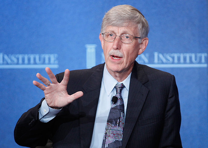 Francis Collins, director of the National Institutes of Health (Reuters / Danny Moloshok)
