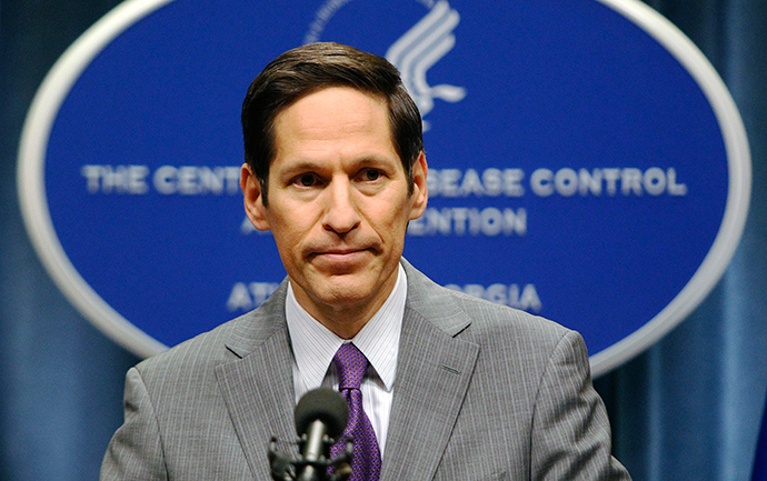 Centers for Disease Control and Prevention (CDC) Director, Dr. Thomas Frieden (Reuters / Tami Chappell)