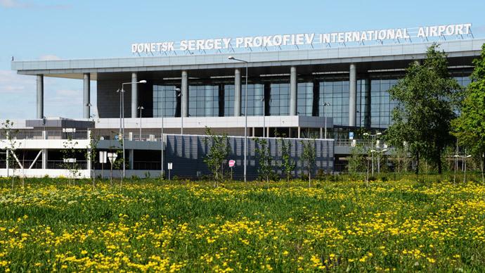 Donetsk Sergey Prokofiev International Airport 05.06./2014.(RIA Novosti / Natalia Seliverstova)