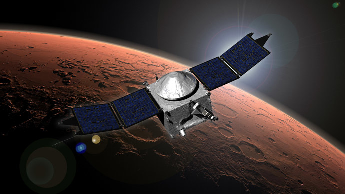 'Duck and hide!' - Comet's near-hit of Mars may crash NASA spacecraft orbiting planet