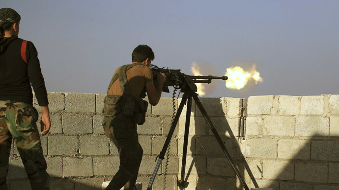 Syrian guerrilla group goes head-to-head against Islamic State
