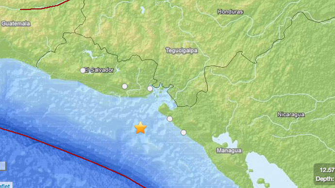 7.4 quake off El Salvador kills one