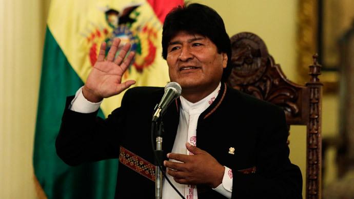 Bolivia's President Evo Morales.(Reuters / David Mercado)
