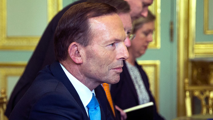 Australian Prime Minister Tony Abbott.(AFP Photo / Etienne Laurent)