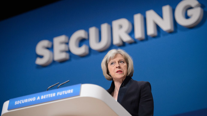 British Home Secretary, Theresa May.(AFP Photo / Leon Neal)