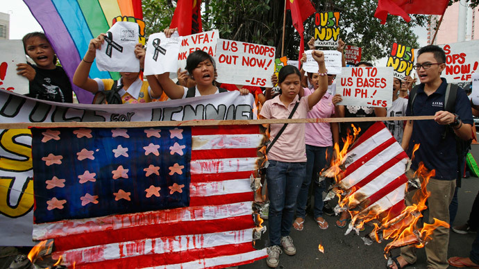 Philippine fury at US Marine's hate crime against transgender Filipino