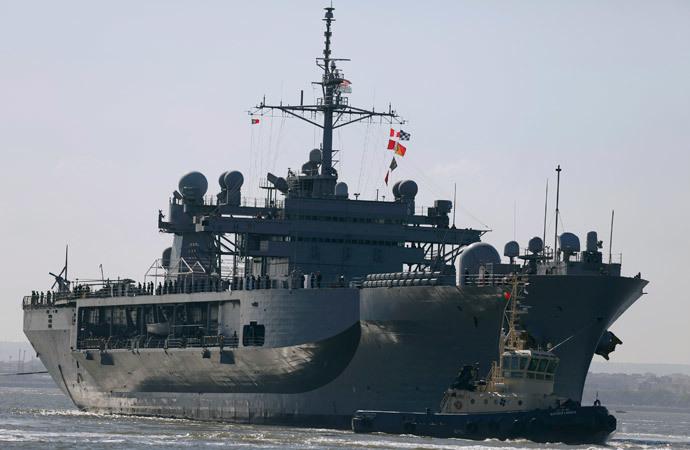 USS Mount Whitney.(Reuters / Rafael Marchante)
